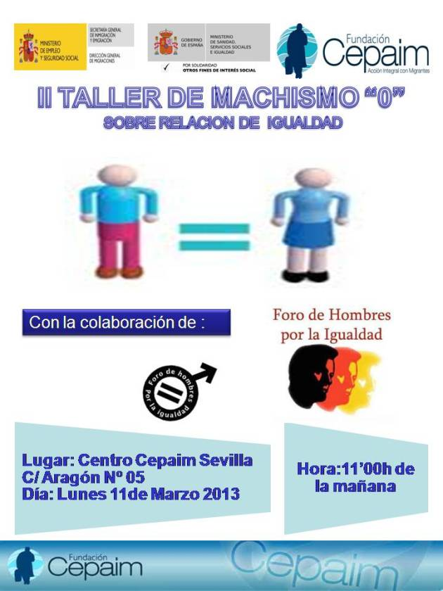 II - TALLER MACHISMO O -2013