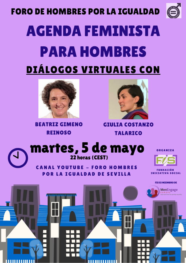 #DiálogosVirtuales 5: Agenda feminista para hombres