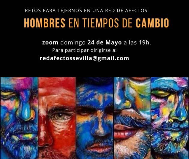 Cartel del encuentro de la Red de Afectos de Sevilla